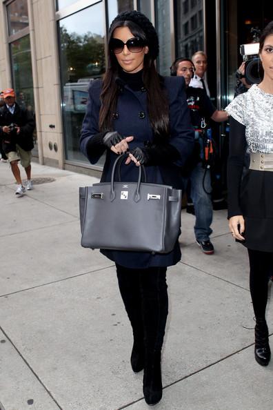 hermes handbags for sale - Celebrity Bagsessions: Kim Kardashian Loves Her Numerous Hermes ...