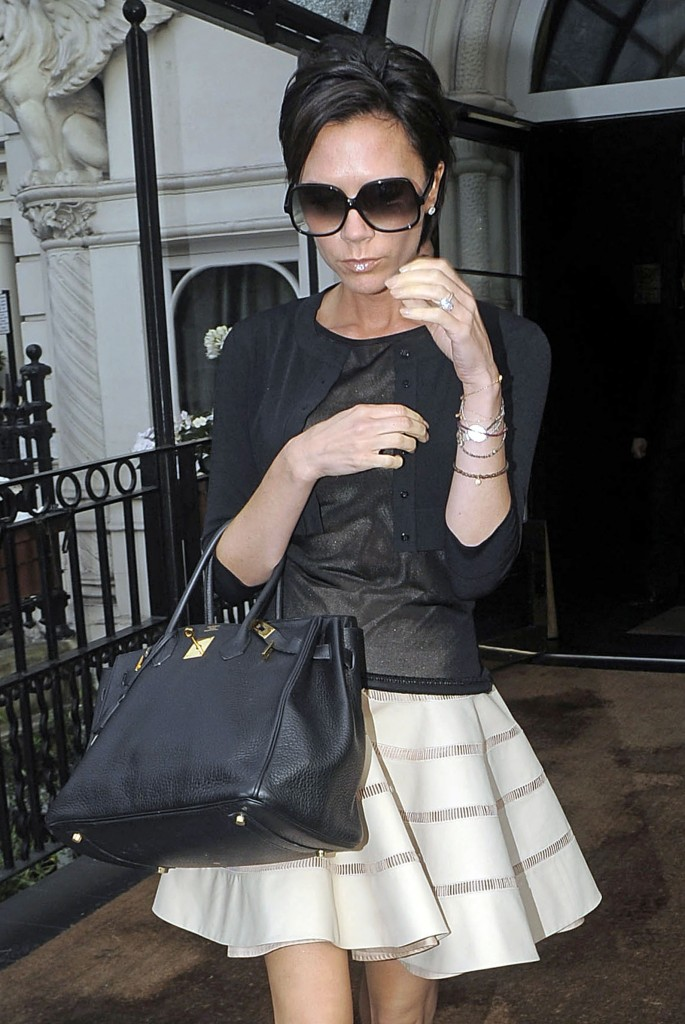 fake birkin hermes - Celebrity Bagsessions: Victoria Beckham Has Over $2 Million Worth ...