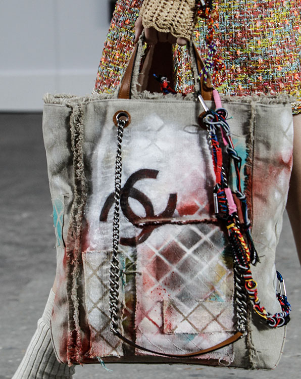 Bring It On The Ss 2014 Chanel Cc Graffiti Backpack The Bagateur